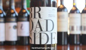 Broadside Margarita Vineyard Cabernet Sauvignon - A Blast Of Bold Flavor