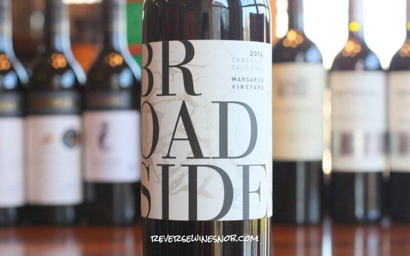 Broadside Margarita Vineyard Cabernet Sauvignon - A Blast Of Bold Flavor