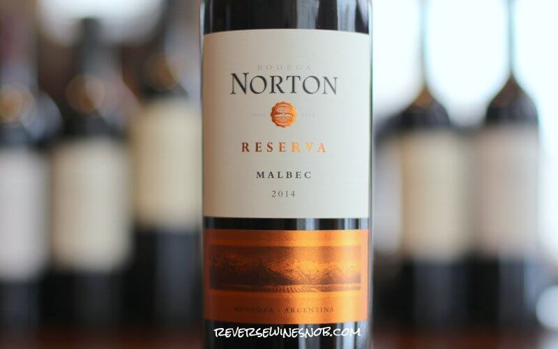 Norton Reserva Malbec - Dependably Satisfying