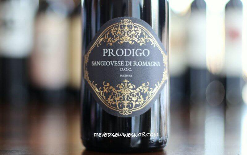 Prodigo Sangiovese di Romagna Riserva - A Floral, Fruity Delight