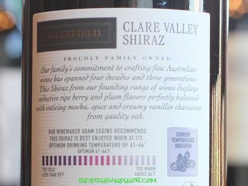 Wakefield Shiraz - Very Satisfying