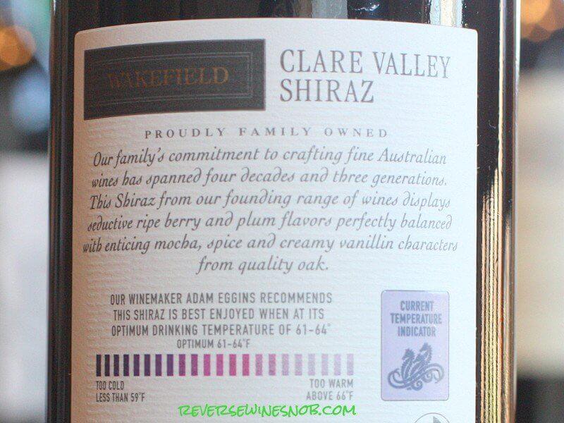 Wakefield Shiraz - Very Satisfying