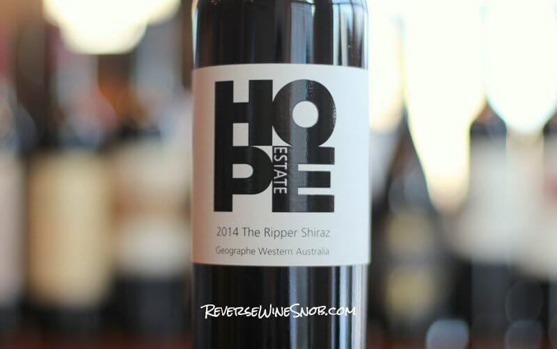 Hope Estate The Ripper Shiraz - Rip-Roaringly Good