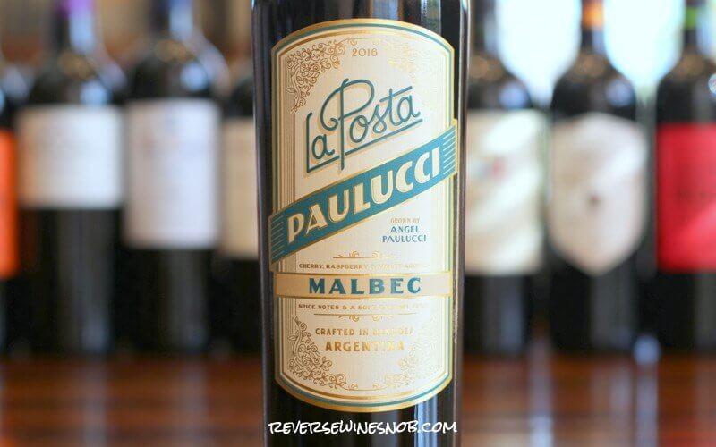 La Posta Paulucci Malbec - Truly Good