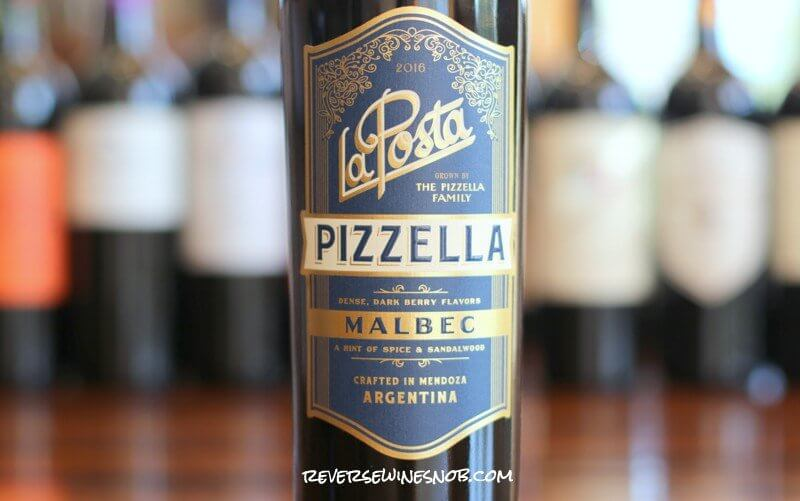 La Posta Pizzella Malbec - Dark, Inky and Delicious