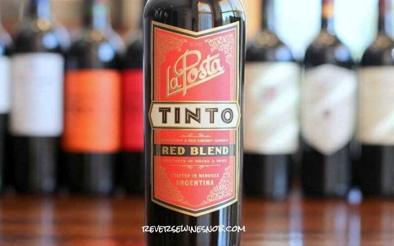 La Posta Tinto Red Blend - Tart and Tasty