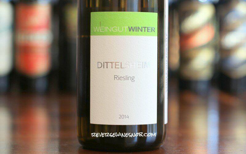 Weingut Winter Dittelsheim Riesling - A Delight