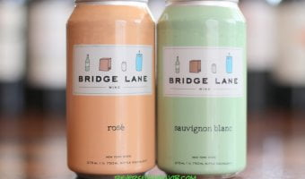 Bridge Lane Rosé and Bridge Lane Sauvignon Blanc - High-Quality Wine In A Can