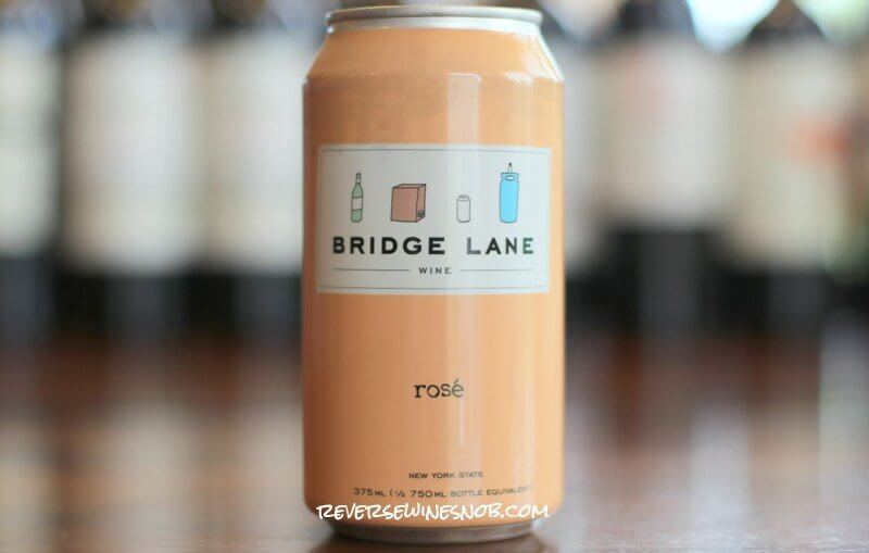 Bridge Lane Rosé - High-Quality Wine In A Can