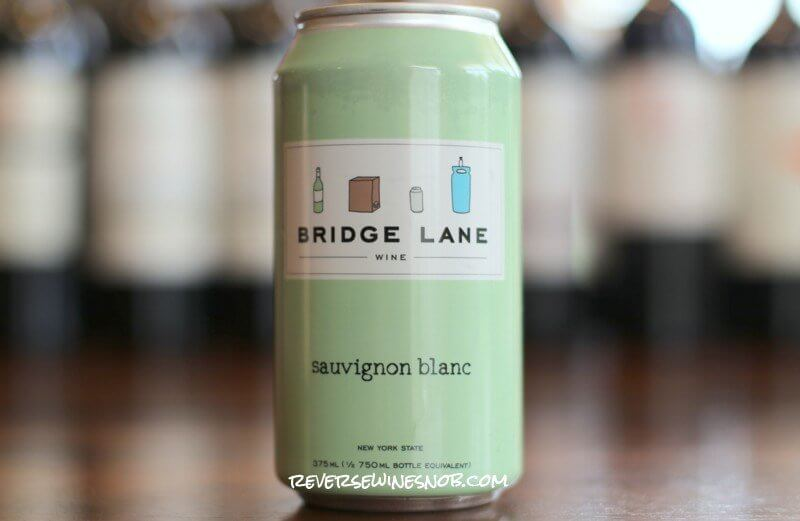 Bridge Lane Sauvignon Blanc - High-Quality Wine In A Can