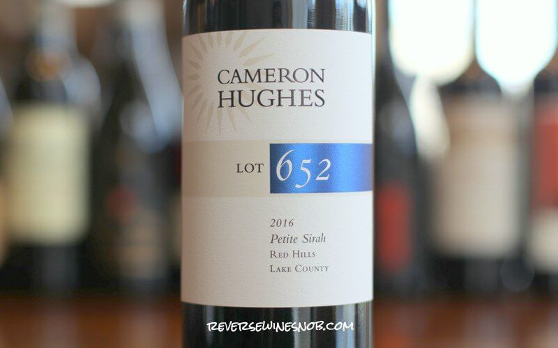 Cameron Hughes Red Hills Petite Sirah Lot 652 - Dark And Delicious