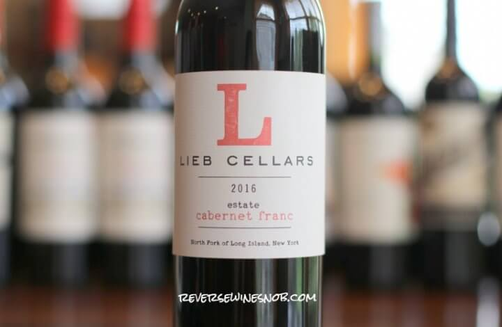 Lieb Cellars Reserve Cabernet Franc - A Lovely From Long Island