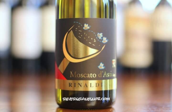 Rinaldi Moscato d'Asti - Sweet, Smooth and Sensational