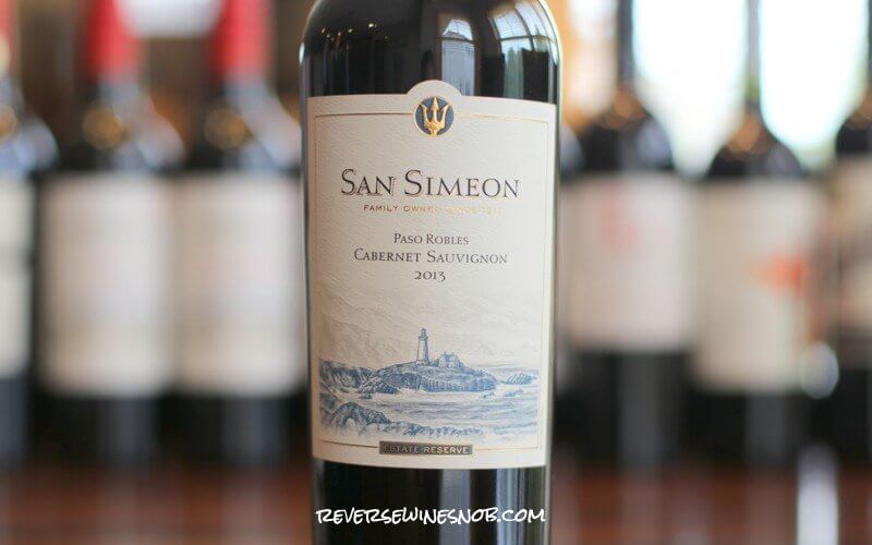 San Simeon Cabernet Sauvignon - Big, Rich and Decadent
