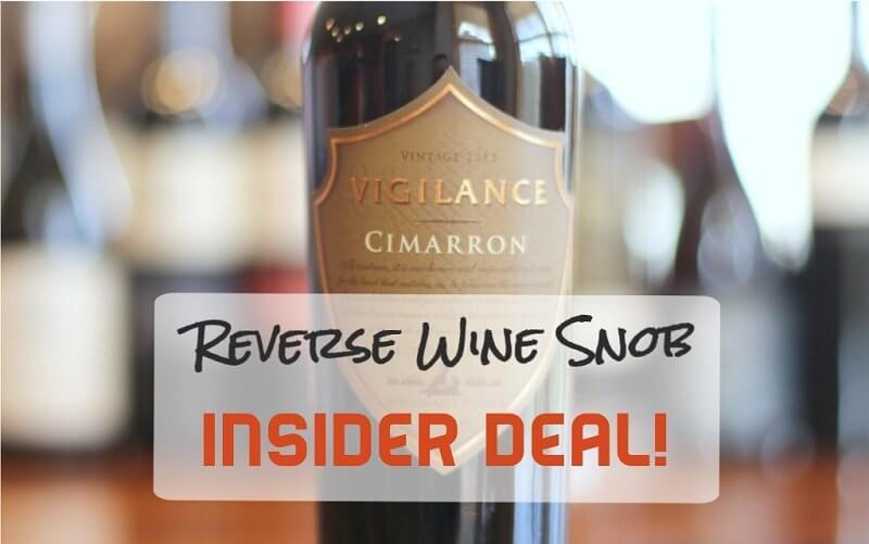 Vigilance Cimarron Red Blend - One Finely Crafted Cuvée