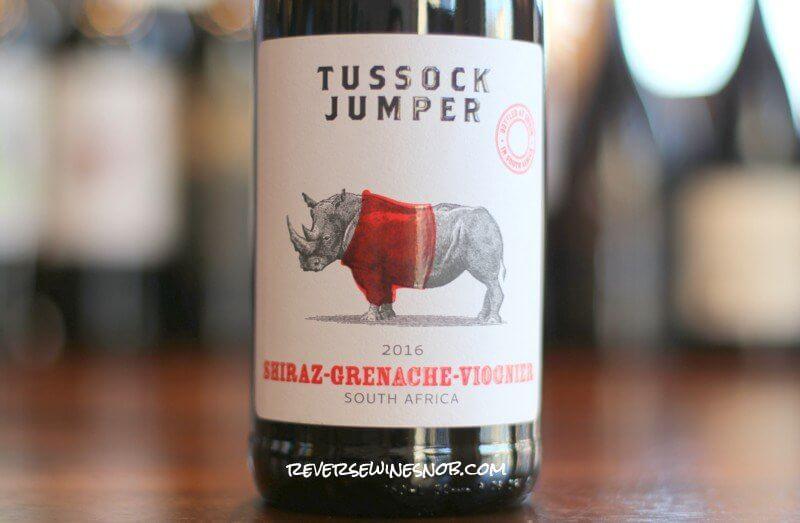 Tussock Jumper Shiraz-Grenache-Viognier - Live Large