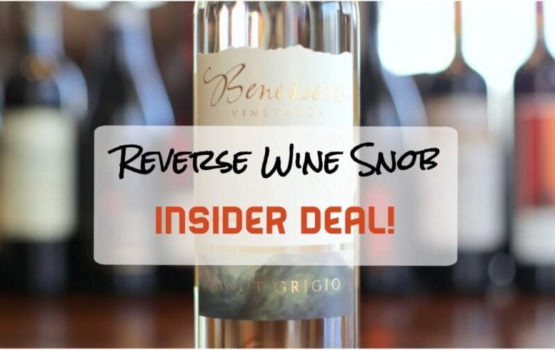 Benessere Napa Valley Pinot Grigio - Vibrantly Delicious