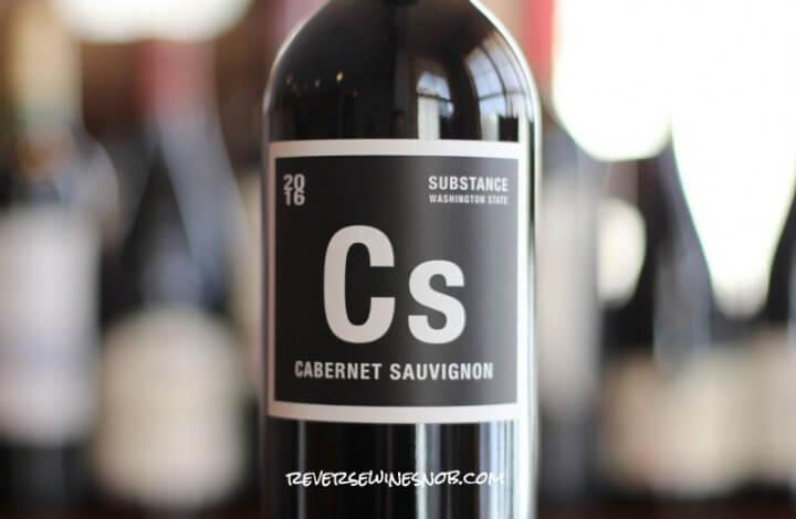 Substance Cabernet Sauvignon - A Stunner