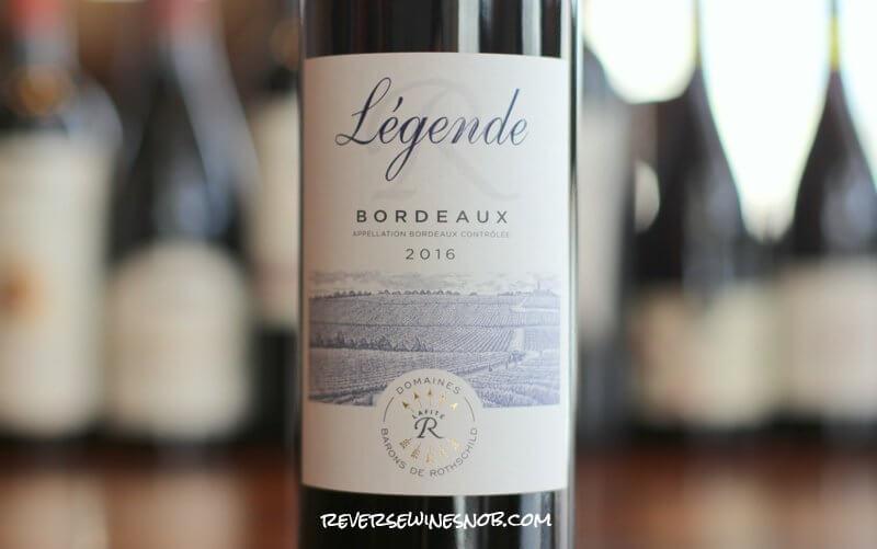 Domaines Barons de Rothschild Legende Bordeaux Rouge – Lovely