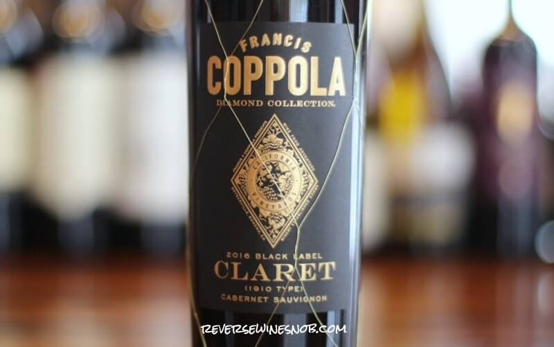 Francis Coppola Diamond Collection Claret - A Capital British Blend From California
