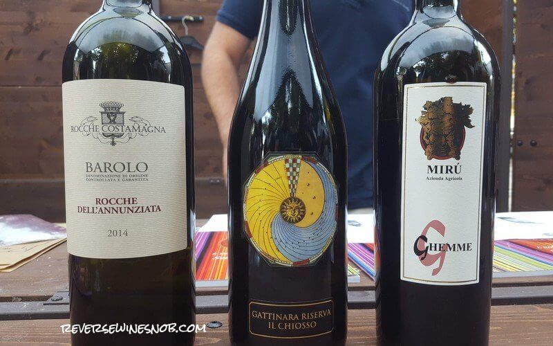 Sample Wines From All Over Italy