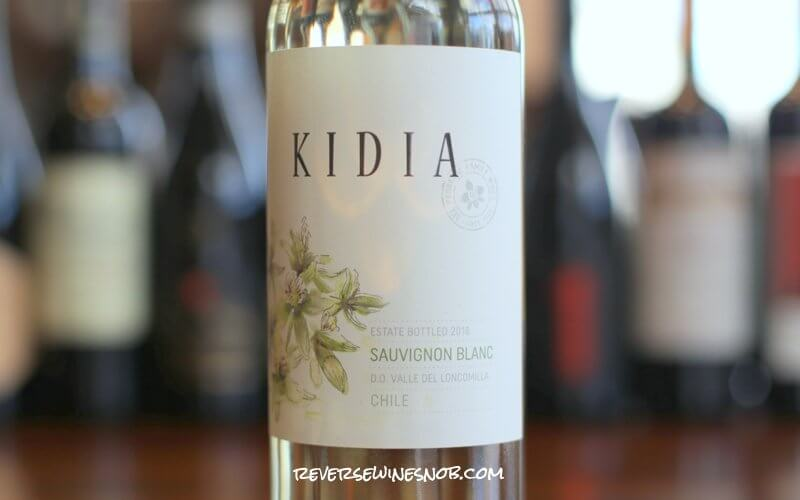 Kidia Sauvignon Blanc - A Quaffer