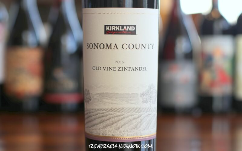 kirkland signature sonoma county old vine zinfandel review