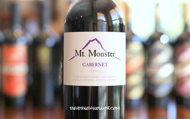 Mt Monster Cabernet Sauvignon - Big On Taste