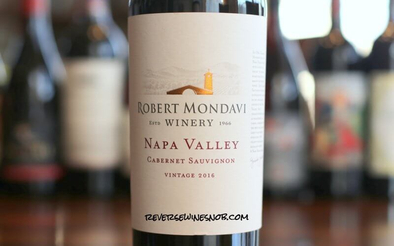 Robert Mondavi Napa Valley Cabernet Sauvignon - A Napa Valley Value