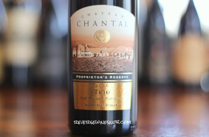 Chateau Chantal Proprietor's Reserve Trio - A Bordeaux Style Blend from the Great Lakes