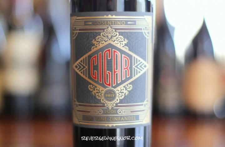 Cigar Old Vine Zinfandel - Big, Sweet and Tasty