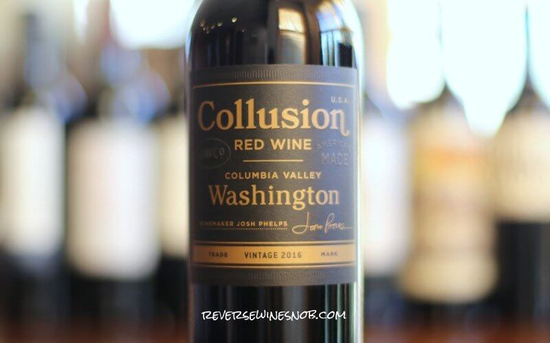 Collusion Red Wine - On The Up And Up