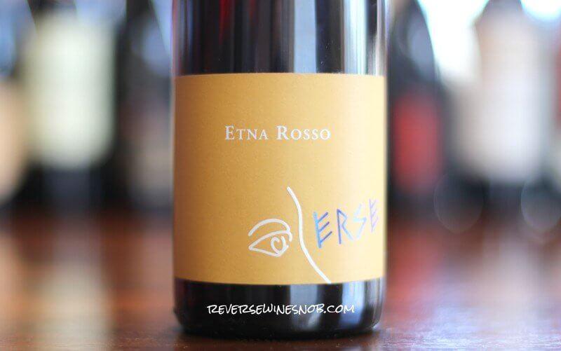 Erse Etna Rosso - A Smooth Sicilian
