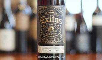 Exitus Bourbon Barrel Red Blend - Big and Bold