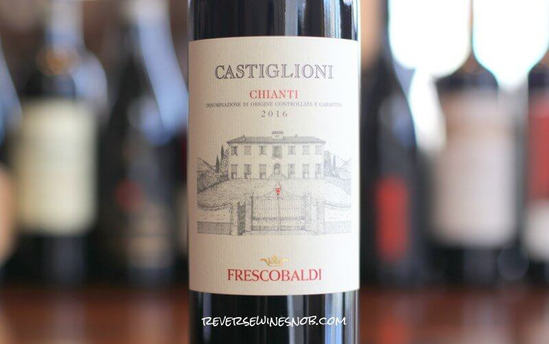 Frescobaldi Castiglioni Chianti - Smooth and Easy To Love