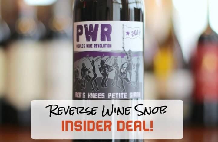 People's Wine Revolution Bea's Knees Petite Sirah - Power to the Petite!