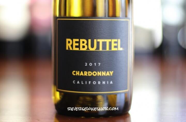 Rebuttel Chardonnay - A Compelling Case