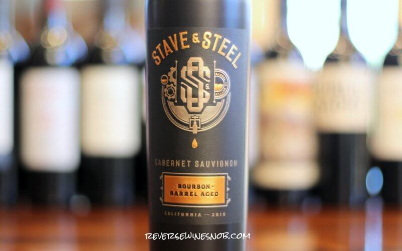 Stave & Steel Bourbon Barrel Aged Cabernet Sauvignon - Hot Stuff
