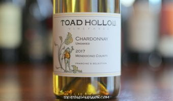 Toad Hollow Unoaked Chardonnay - Tasty!