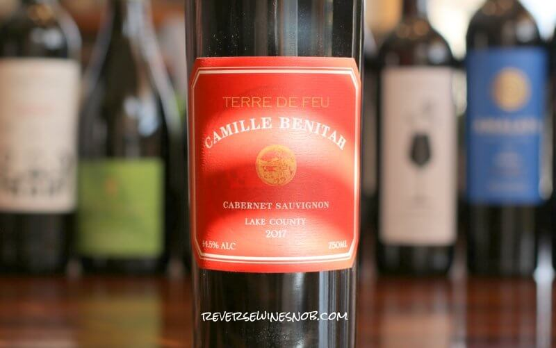 Camille Benitah Terre de Feu Cabernet Sauvignon - Beautifully Balanced