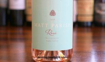 Matt Parish Napa Rose of Pinot Noir - Fresh and Fantastic Dry Rosé