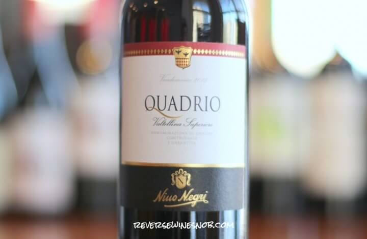 Nino Negri Quadrio Valtellina Superiore - A Beauty of a Wine