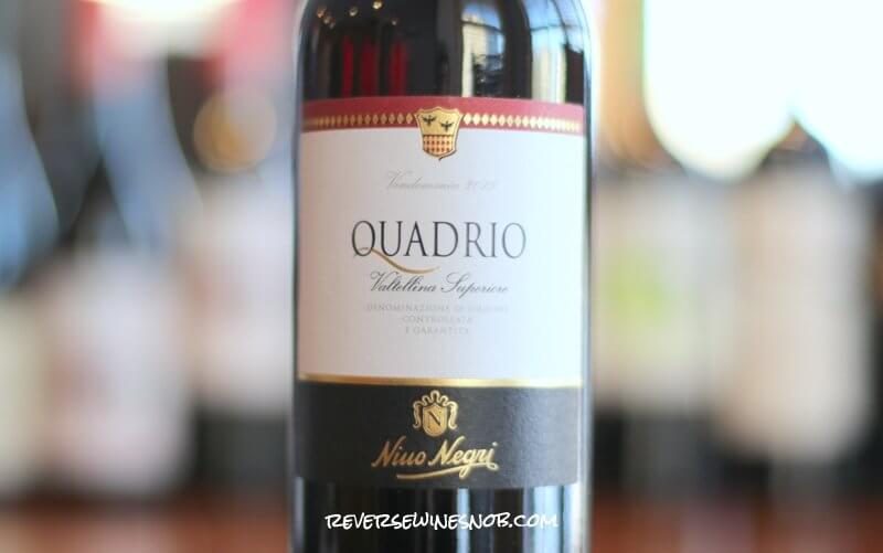Nino Negri Quadrio Valtellina Superiore - A Beauty of a Wine