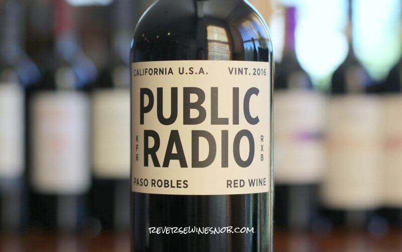 Grounded Wine Co. Public Radio Red Wine – A Chart Topper