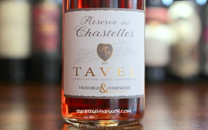 Reserve des Chastelles Tavel Rosé - Serious Rhone Rosé from Trader Joe's