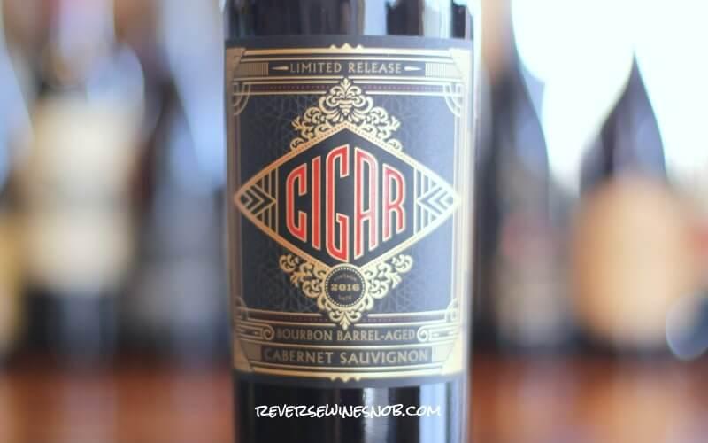 Cigar Bourbon Barrel-Aged Cabernet Sauvignon - Smokin'