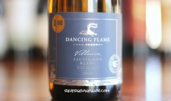 Dancing Flame Gran Reserva Sauvignon Blanc - Grassy and Darn Good