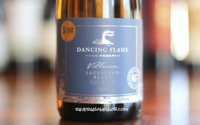 Dancing Flame Gran Reserva Sauvignon Blanc - Grassy and Darn Good