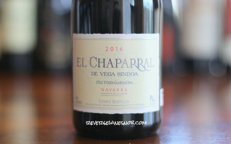 El Chaparral de Vega Sindoa Garnacha - Old Vine Value