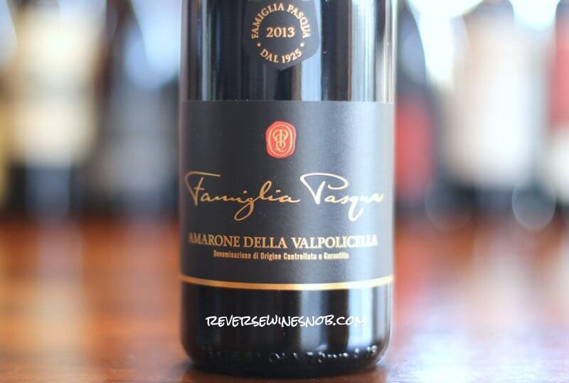 Famiglia Pasqua – Excellent Amarone and Much More